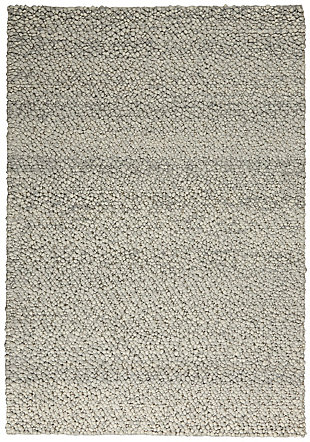 "Calvin Klein Riverstone 5'3"" x 7'5"" Indoor Rug, Gray/Ivory, large"