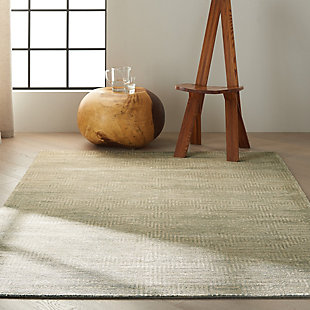 "Calvin Klein Maya 5'3"" x 7'5"" All-Over Design Indoor Rug, Mineral, rollover"