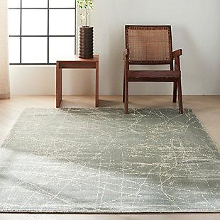 """Calvin Klein Maya 5'3"""" x 7'5"""" All-Over Design Indoor Rug, Mercury, rollover"""