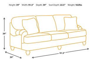 ... Hariston Sofa, , Large ...