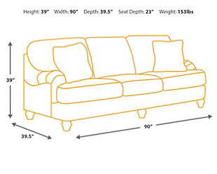 Gypsum Sofa, , large