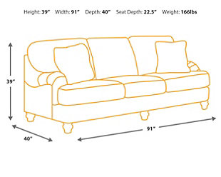 Kannerdy Sofa, , large