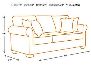 Oberson Reclining Sofa, , large