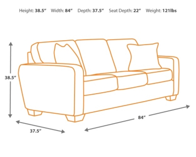 Sofa Dimensions TheSofa