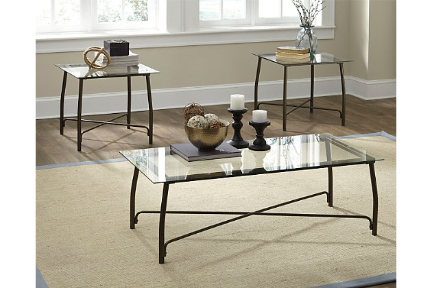 Burmesque Table (Set of 3), , large