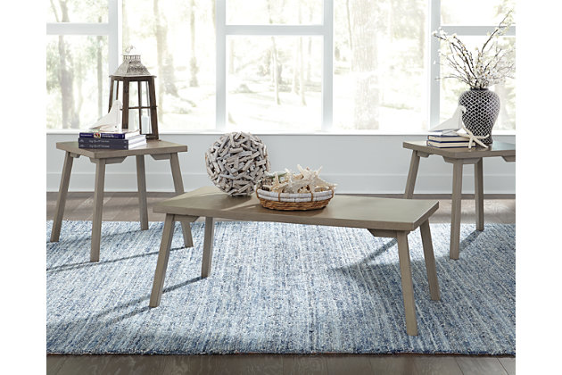 Ginnia Table (Set of 3), , large