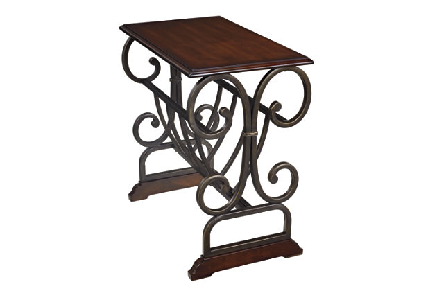 Braunsen Chairside End Table by Ashley HomeStore, Brown