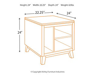 Chanceen End Table, , large