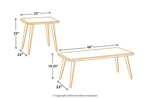 Fazani Table (Set of 3), , large