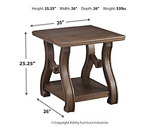 Tanobay Coffee Table with 1 End Table, , large