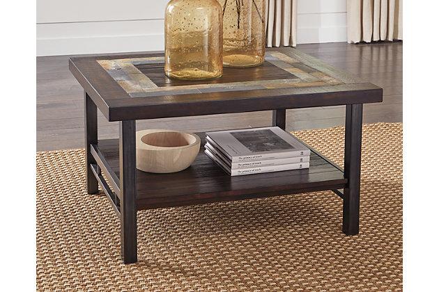 Gallivan Coffee Table by Ashley HomeStore, Brown