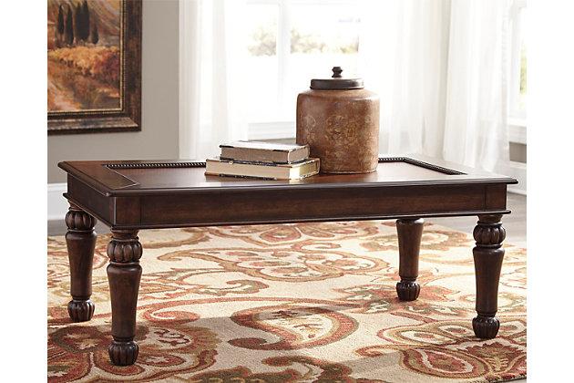 Millburg Coffee Table by Ashley HomeStore, Brown