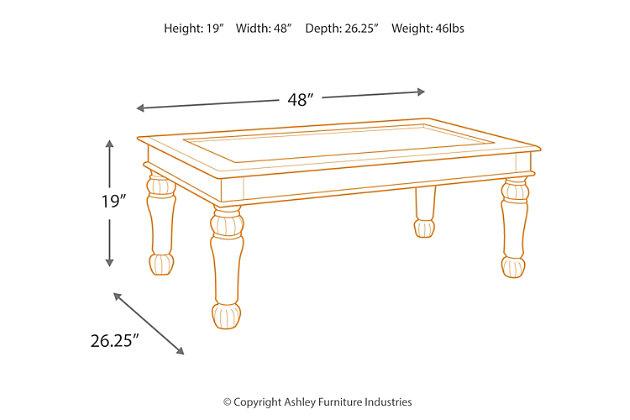 Millburg Coffee Table, , large