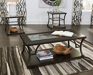 Lamink Table Set Of 3 Ashley Furniture Homestore