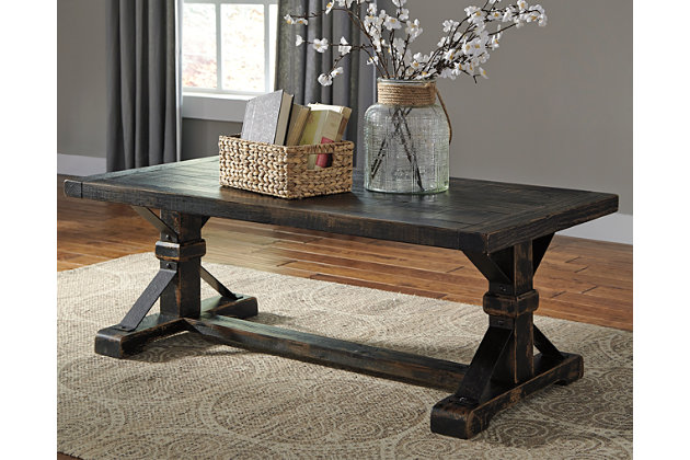 Beckendorf Coffee Table Ashley Furniture HomeStore - Rectangular cocktail table by ashley furniture