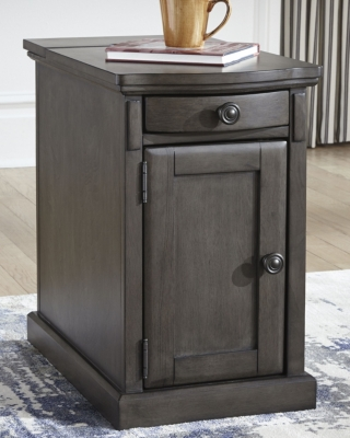 Image of Laflorn Chairside End Table, Gray