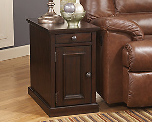 Laflorn Chairside End Table, , large