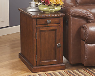 Laflorn Chairside End Table, , rollover