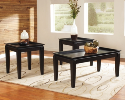 One of a kind Almost Black Table Product Photo