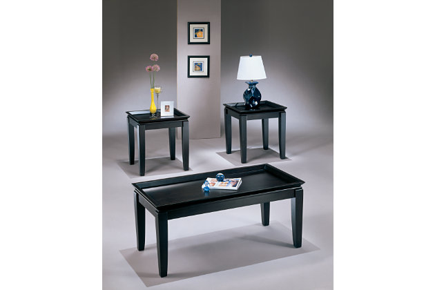 delormy table (set of 3) | ashley furniture homestore
