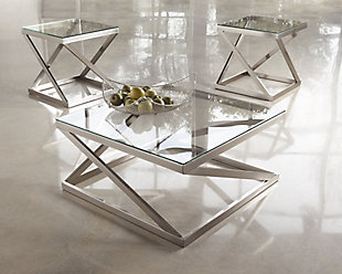 Coylin Coffee Table with 2 End Tables, , rollover