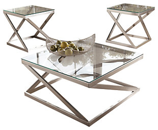 Coylin Coffee Table with 2 End Tables, , large