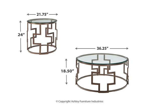 Frostine Table (Set of 3) | Ashley Furniture HomeStore