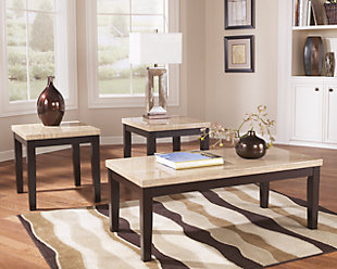 large Wilder Table Set of 3 rollover Coffee Tables Ashley Furniture HomeStore