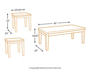 Wilder Table (Set of 3), , large