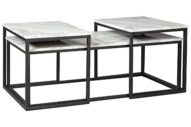 Donnesta Table (Set of 3), , large