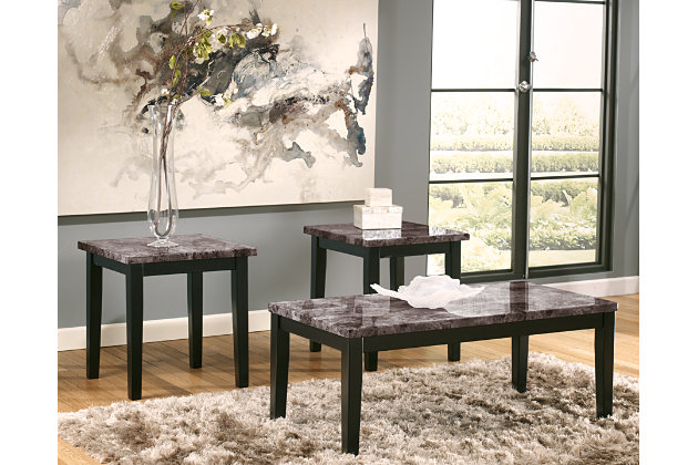 Black Maysville Table (Set of 3) by Ashley HomeStore