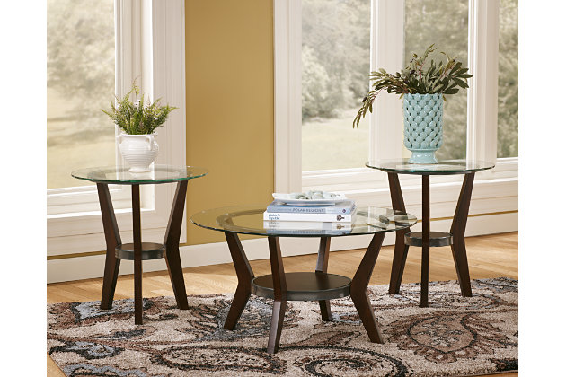 fantell table set of 3 ashley furniture homestore