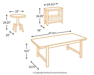 Riggerton Table (Set of 3), , large