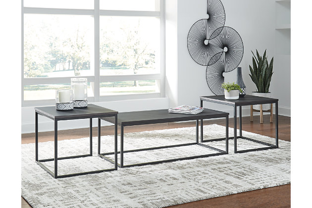 Yarlow Table (Set of 3), , large