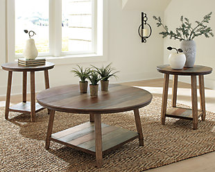 Raebecki Table (Set of 3), , rollover