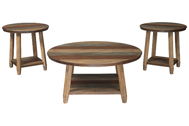 Raebecki Table (Set of 3), , large