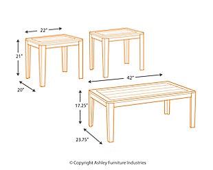 Birstrom Table (Set of 3), , large