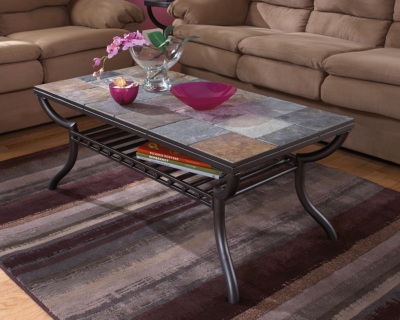 Ashley Antigo Coffee Table, Black