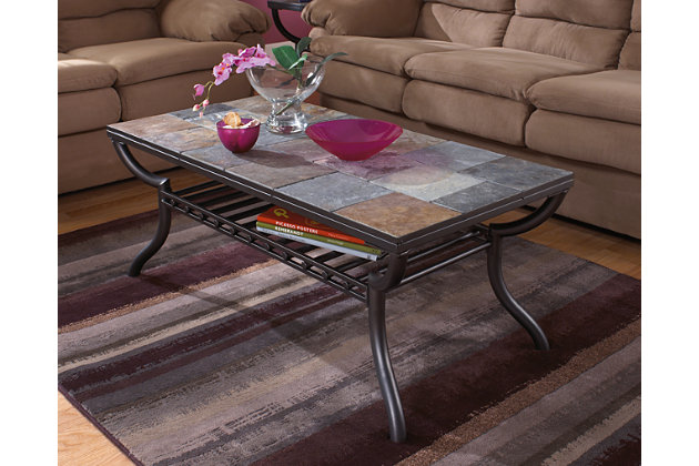 Antigo Coffee Table  large ...  sc 1 st  Ashley Furniture HomeStore : antigo coffee table set - pezcame.com