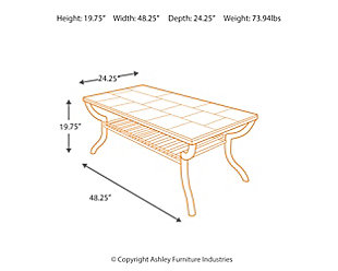 Antigo Coffee Table Ashley Furniture Homestore