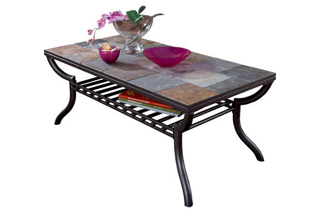 antigo coffee table ashley furniture homestore With antigo coffee table