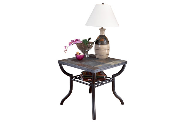 Antigo End Table by Ashley HomeStore, Black