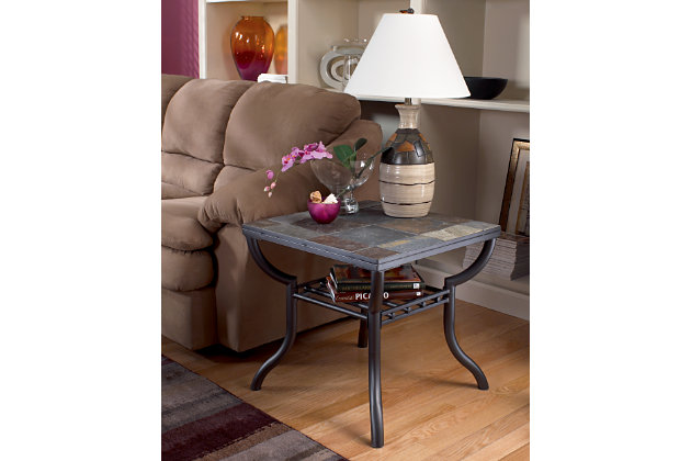 Black Antigo End Table by Ashley HomeStore