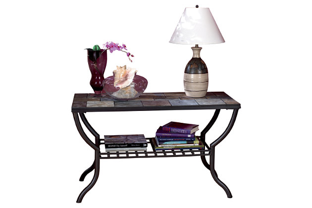 Antigo Sofa/Console Table by Ashley HomeStore, Black