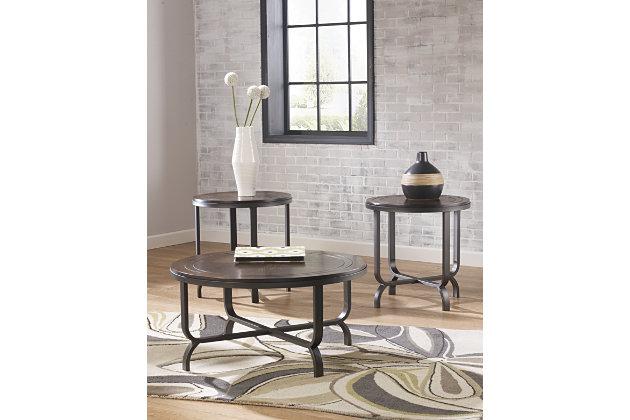 ferlin table (set of 3)   ashley furniture homestore