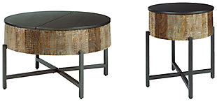 Nashbryn Coffee Table with 1 End Table, , large