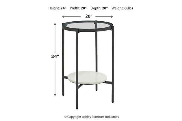 Zalany End Table, , large