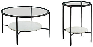 Zalany Coffee Table with 1 End Table, , large