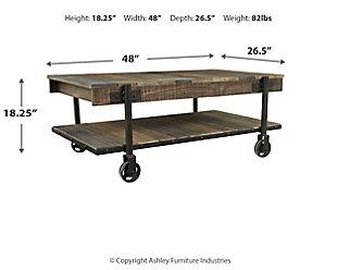 Bostweil Coffee Table, , large
