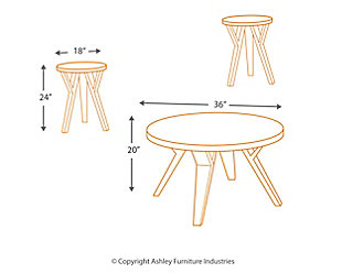 Ingel Table (Set of 3), , large